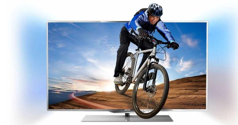 [MeinPaket] 46″er Ambilight 3D TV: Philips 117 cm, triple Tuner, CI+, WiFi, Smart TV, inkl. Versand 1.144,09€
