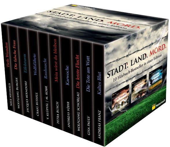 [Amazon] ADAC Motorwelt Box: 54 CDs mit 10 Krimis inkl. Versand 47,20€