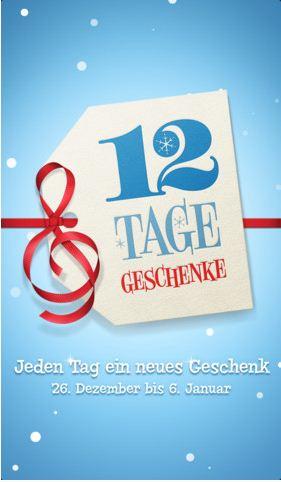 [itunes] Ab Heute: 12 Tage, jeden Tag 1 Geschenk!