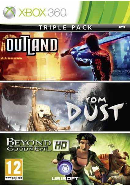 [zavvi] XBox Games: Outland & From Dust & Beyond Good and Evil, zusammen inkl. Versand 12,89€