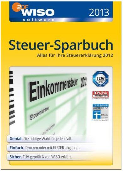 [ebay Wow] WISO: Steuer Sparbuch 2013 DVD Box (Steuerjahr 2012) inkl. Versand 24,99€