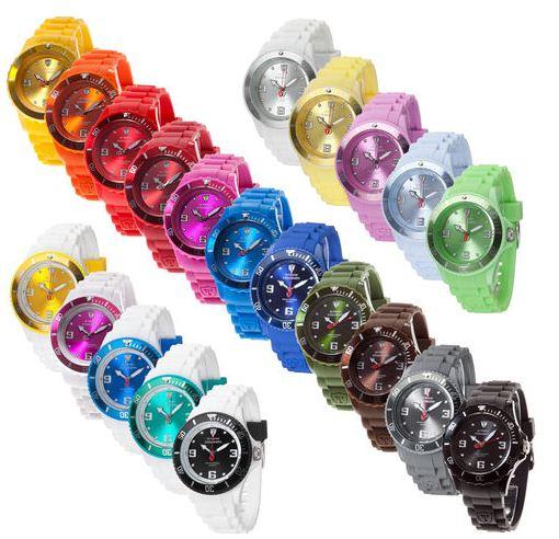 [ebay Wow] Mode Silikonuhren: DeTomaso Colorato in diversen verschiedenen Farben und Größen inkl. Versand 19,99€