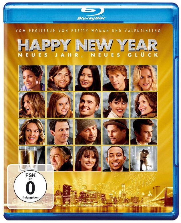 [Amazon] Blu ray der Woche: Happy New Year, inkl. Versand 7,97€