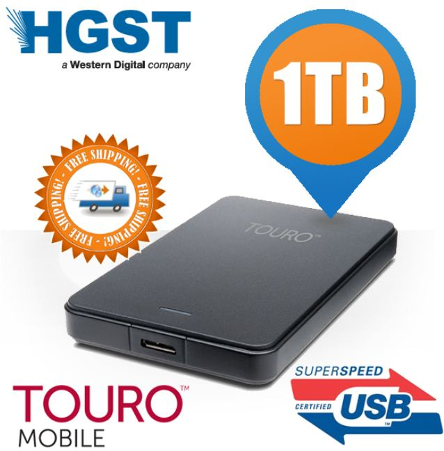[Amazon] 2.5 ext. Festplatte: 1 TB Hitachi Touro Mobile (USB 3) inkl. Versand 61,95€