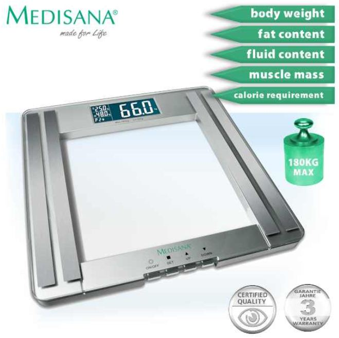 [iBOOD] Medisana Body Analyse Waage PSM 25,90€ & TwistDock für PlayStation 3 mit USB Hub und Kabel Set 8,90€ je inkl. Versand!