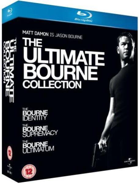 The Ultimate Bourne Collection auf Blu ray für nur 8,82€