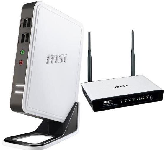 Schnäppchen! MSI Wind Box Mini PC inkl. SSD Festplatte + MSI WLAN ADSL+ Router nur 269€ inkl. Versand