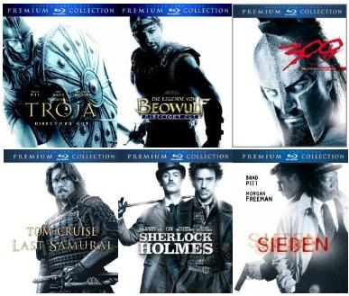 [Nur heute!] Premium Collection [Blu rays] für je 12,12€ inkl. Versand