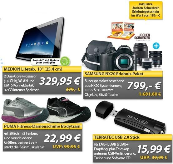 OHA Wochenend Deals! (Medion Lifetab... uvm.)