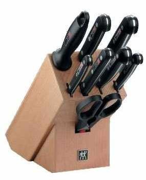 [Amazon] Messerblock: ZwillingTwin Gourmet 9 teilig inkl.Versand nur 99,95€  (Preisvergleich 219€)