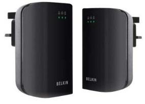 Belkin Powerline AV 200Mbps Adapter 3 Port Duo für 29,99€