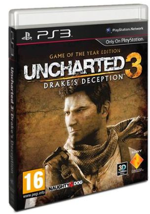 [ebay Wow] PS3 Game   Uncharted3: Drakes Deception (Game of the Year Edition) inkl. Versand 19,49€