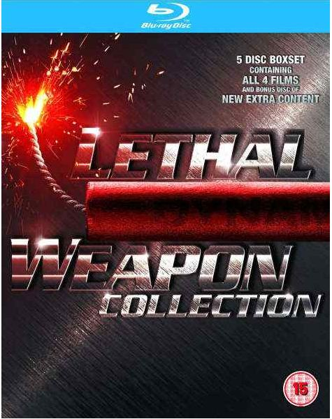 [zavvi] Blu ray Box: Lethal Weapon 1 4 inkl. Versand 13,88€