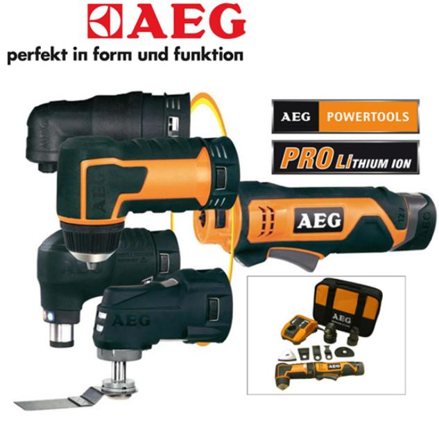 [iBOOD] AEG Multi Tool Set inkl. Versand 105,90€