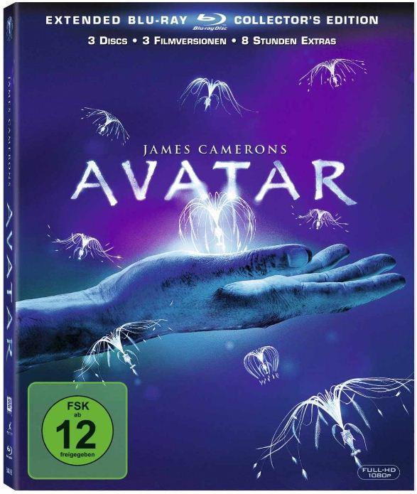 [Amazon] Blu ray: Avatar (Extended Collectors Edition) inkl. Versand nur 9,97€