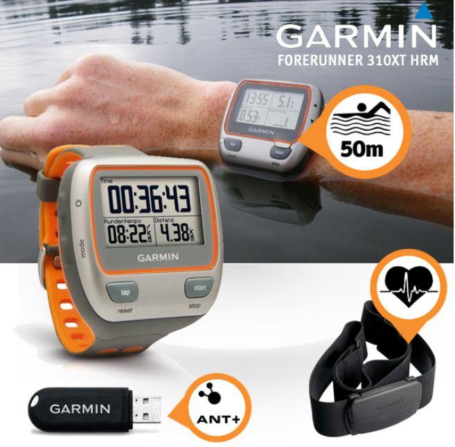 [iBOOD] Sportuhr: Garmin Forerunner 310XT HRM mit ATN Stick und Brustgurt (Refurbished) inkl. Versand 205,90€
