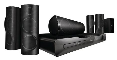 [redcoon] 3D 5.1 Heimkinosystem: Philips HTS5561, mit Boxen, Blu ray Player und USB inkl. Versand 199€