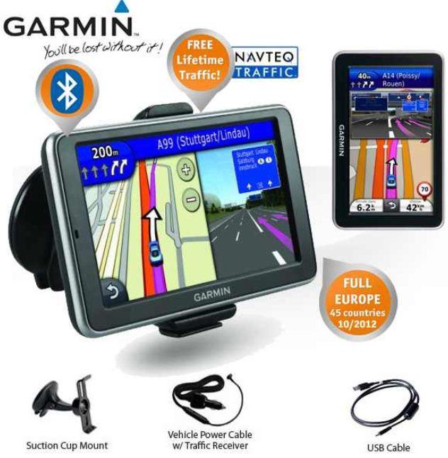 [iBOOD] Navi: Garmin nüvi 2360LT mit Lifetime Verkehr Updates, Bluetooth (NOH B Ware) inkl. Versand 135,90€
