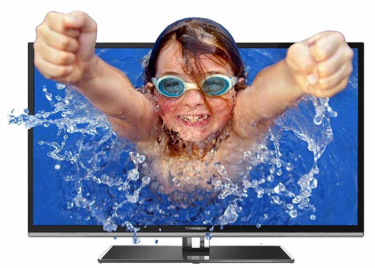 50 3D Smart TV, Thomson 50FU6663, (DVB C/ T) + Samsung Bluray Player für 599€