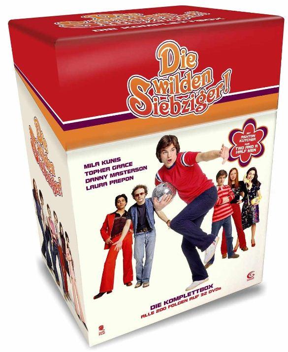 [Amazon Blitzangebote] Gleich ab 17Uhr: Die wilden Siebziger   Die Komplettbox mit allen 200 Folgen auf 32 DVDs inkl. Versand 41,97€