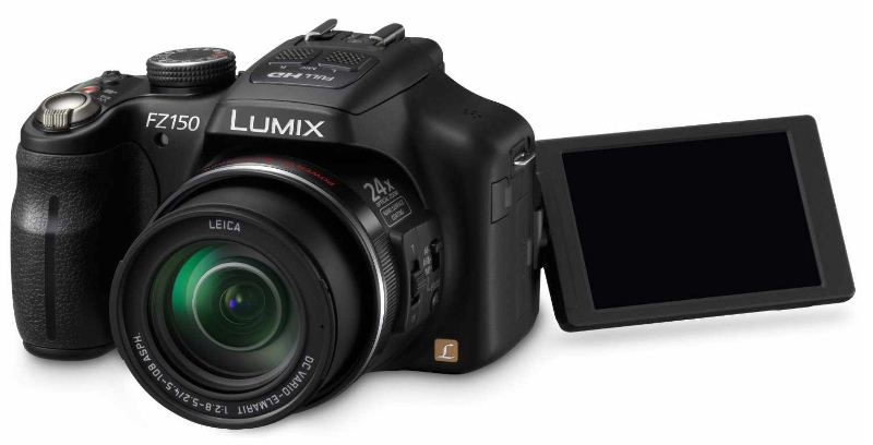 [ebay Wow] 12.1MP Digitalkamera: Panasonic Lumix DMC FZ150 mit 24fach Zoom inkl. Versand 333€