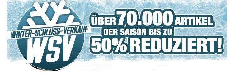 [Planets Sports] Update! Winterschluss Verkauf: mit Rabatten bis zu 50%!