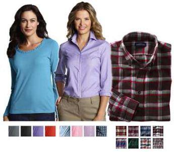[ebay Wow] LANDS END: Herren Freizeit Hemden & Damenblusen & Damenshirts inkl. Versand je 12,95€