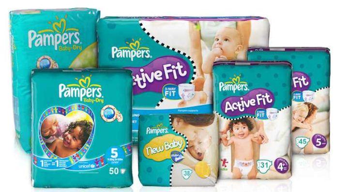 [ebay Wow] Pampers Baby Dry, Active Fit oder New Baby Vorteilspack mit bis zu 268 Windeln, inkl. Versand 59,95€