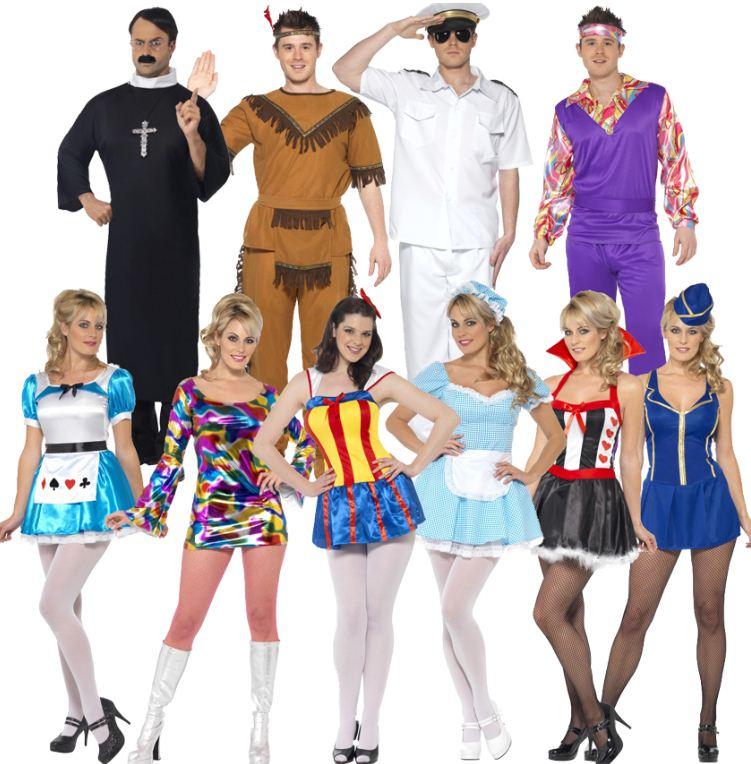 [ebay Wow] Damen & Herren Karnevalskostüme: Smiffys in 10 verschiedenen Modellen, je inkl. Versand 14,99€
