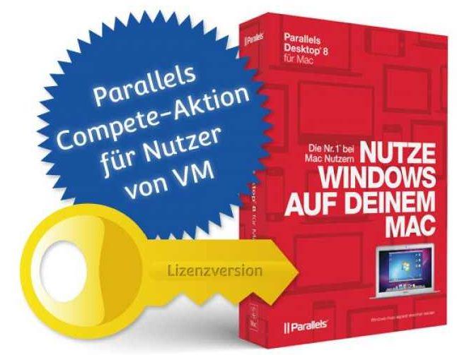 Parallels Desktop 9.0 Mac für 34,95€   wieder da!
