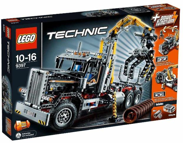 LEGO Technic 9397 Holztransporter für 89,99€ (statt 110€)