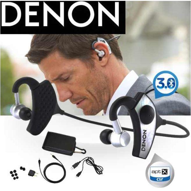 [iBOOD] Knaller! In Ears mit integriertem Verstärker: Denon AH W200 Globe Cruiser Bluetooth 3.0 inkl. Versand 85,90€ (Vergleich 184€)!