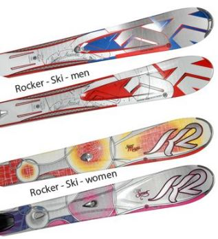 [ebay Wow] Carving Ski: K2 Head Atomic inkl. Bindung (9 verschiedene Modelle) inkl. Versand je 159,95€