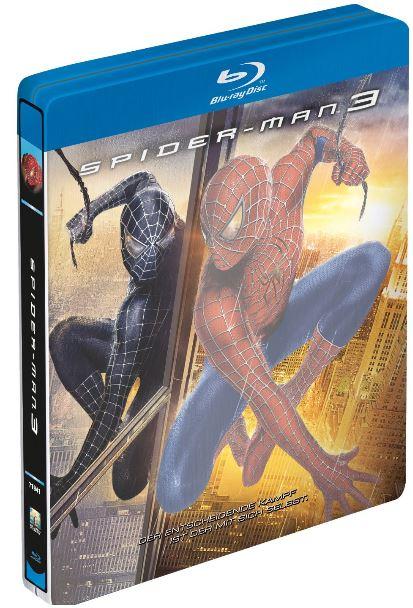 [Amazon] Blu ray: Spider Man 3 im Steelbook, inkl. Versand 7,89€
