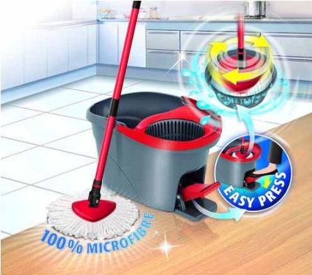 [ebay Wow] Vileda: Easywring  Set (Bodenwischer mit Eimer und PowerSchleuder) inkl. Versand 29,99€