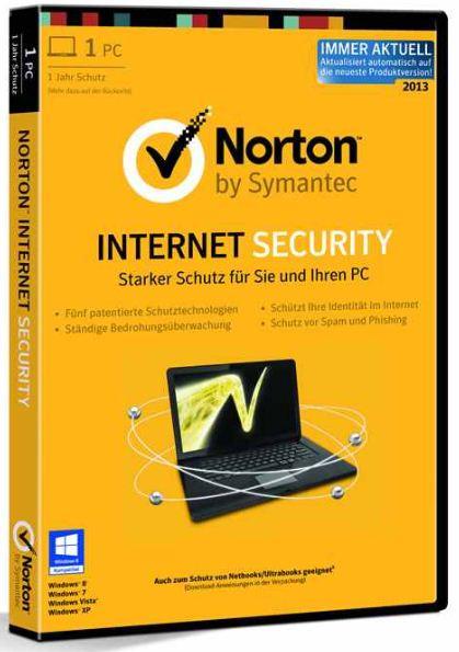 [ebay Wow] Symantec: NORTON Internet Security 2013 (1 PC / 1 Jahr, DVD Box) inkl. Versand 12,90€