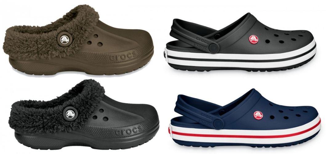 [ebay Wow] Blitzen Wintercrocs oder Crocband Clogs in schwarz, navy oder braun, inkl. Versand 27,95€