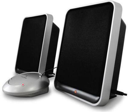 [ebay Wow] Wireless Lautsprecher: AUNA mit Sendestation bis 100m Reichweite, inkl. Versand 49,90€