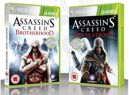 [zavvi] XBox Game: Assassins Creed doppel Pack (Brotherhood und Revelations) inkl. Versand 17,68€!