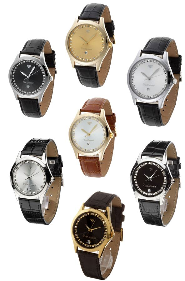 [ebay Wow] Damen und Herrenuhren: YVES CAMANI TWINKLE (7 verschiedene Modelle) je inkl. Versand 29,95€