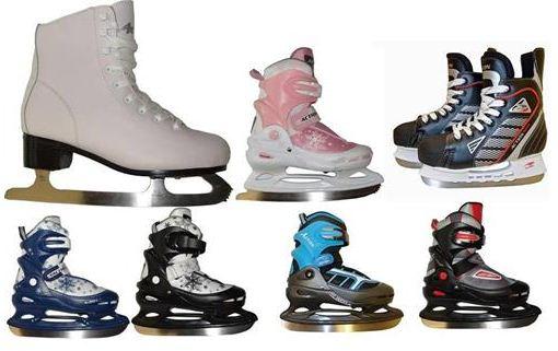 [ebay Wow] Schlittschuhe: Eiskunstlauf, Eishockey oder Größenverstellbare (Größen von 33 bis 46) inkl. Versand 22,22€