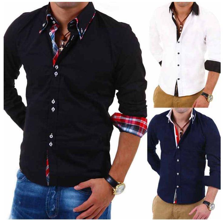 [ebay Wow] Herren Hemd: Carisma Slim Fit Langarm (5 Modelle, verschiedene Farben, Gr. S   4XL) inkl. Versand 24,95€