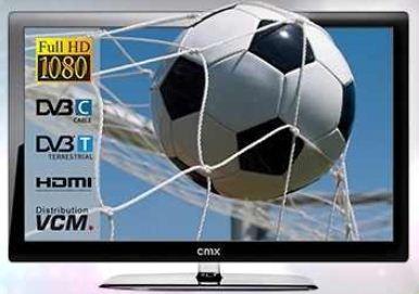 [Amazon] 3D 42er TV Deal des Tages: CMX LCD mit 107cm (Full HD, DVB T, USB) inkl. 4x 3D Brillen und Versand 333€