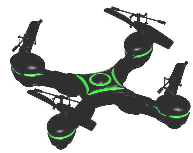 [Amazon] 4 Kanal Quadcopter: Starkid X UFO (ferngesteuert per Infrarot) inkl. Versand 39,99€