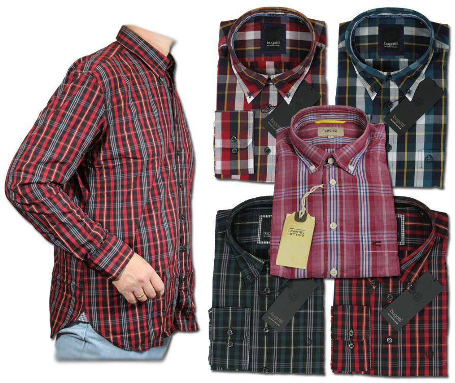 [ebay Wow] Herrenhemden: Bugatti & Camel Active, versch. Farben (Gr. S bis XXL) inkl. Versand 24,99€