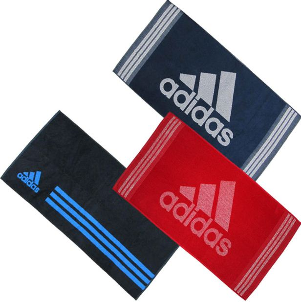 Adidas Handtücher (verschiedene Farben) für je 9,99€