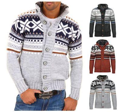 [ebay Wow] Herren Norweger: Carisma Warme Strickjacke in 5 verschiedenen Farben, je inkl. Versand 34,90€