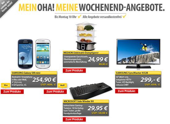 [MeinPaket] OHA Deals   z. B. Gaming Keyboard Microsoft SideWinder X4 für 29,95€ inkl. Versand