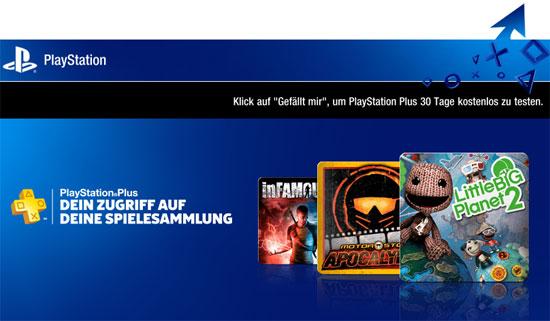 Update! PlayStation Plus kostenlos für 30 Tage
