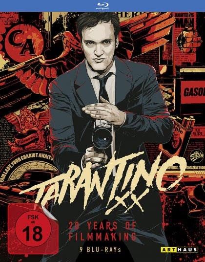 [Media Dealer] Tarantino XX Kollektion (9 Blu rays) für 66€ inkl. Versand